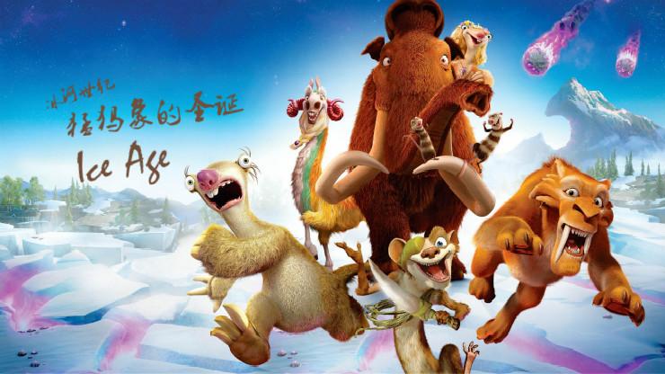 冰河世纪:猛犸象的圣诞(英语)